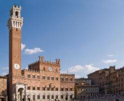 Siena, in the heart of the Tuscan countryside